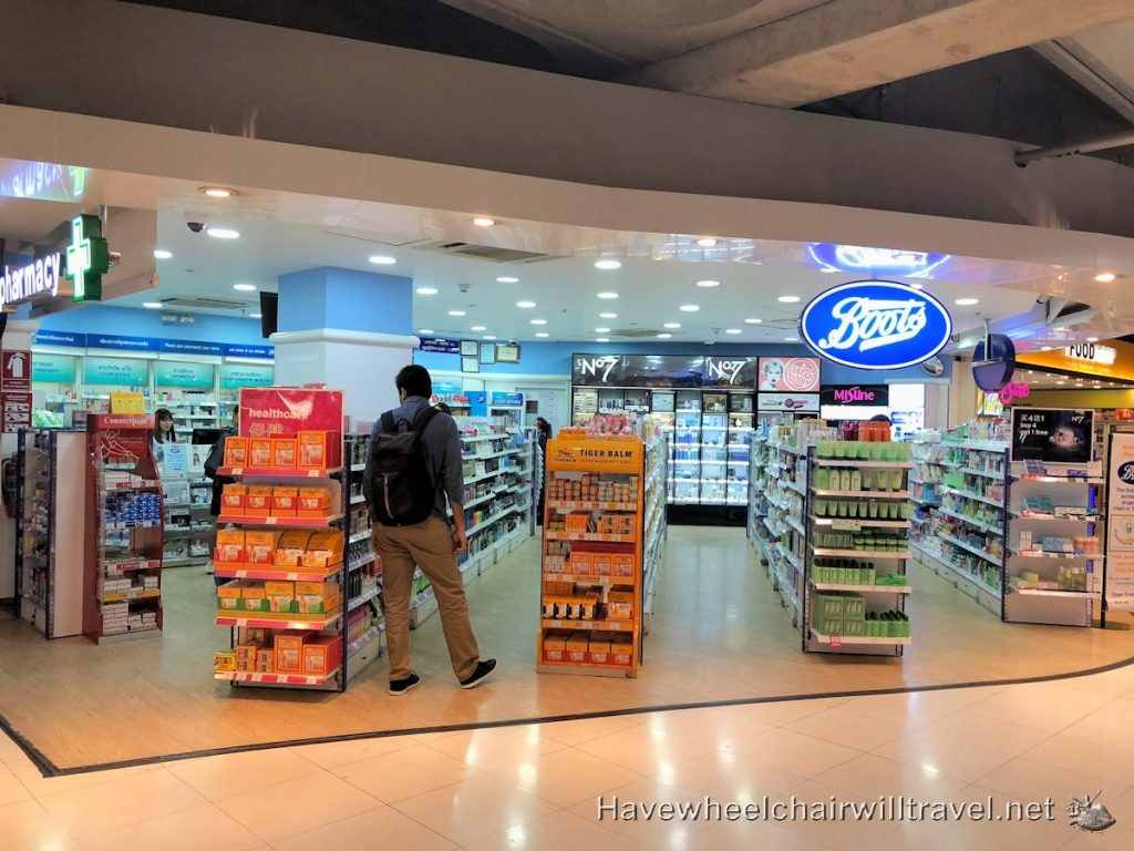 Bangkok Airport Shopping