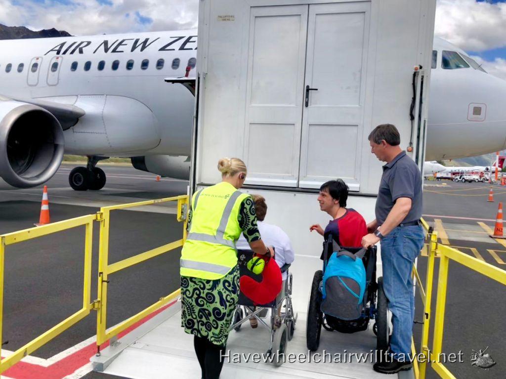 Air New Zealand access