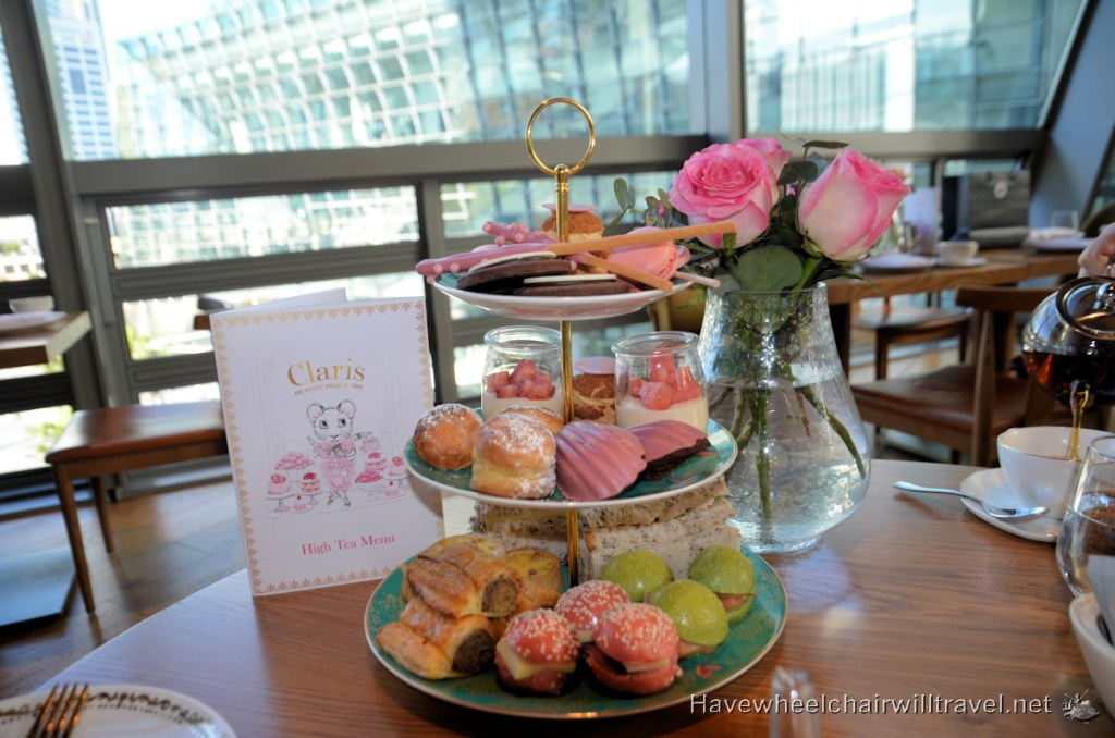 Delicious Treats at Claris-themed High Tea - Sofitel Sydney Darling Harbour - Have Wheelchair Will Travel