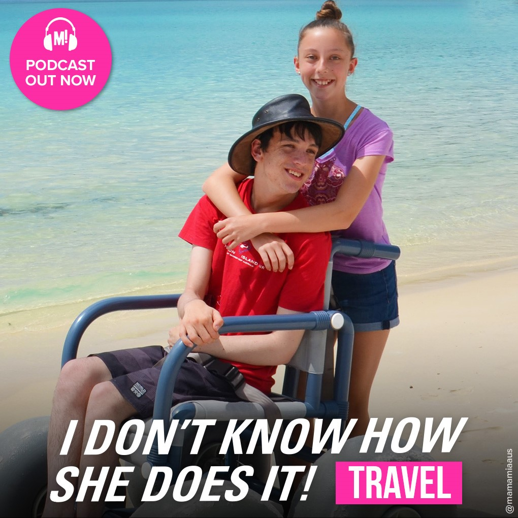 Mamma Mia I Don't Know How She Does It Podcast - Julie Jones Interview - Have Wheelchair Will Travel