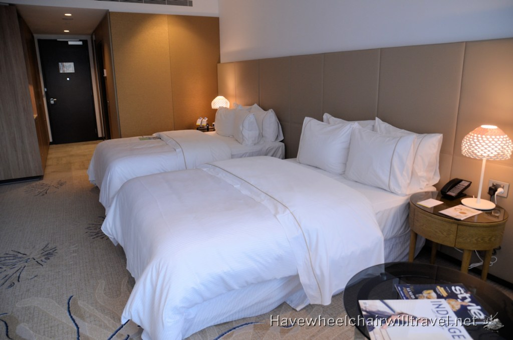 The Westin Brisbane - Heavenly Beds and Hotel Room - Have Wheelchair Will Travel