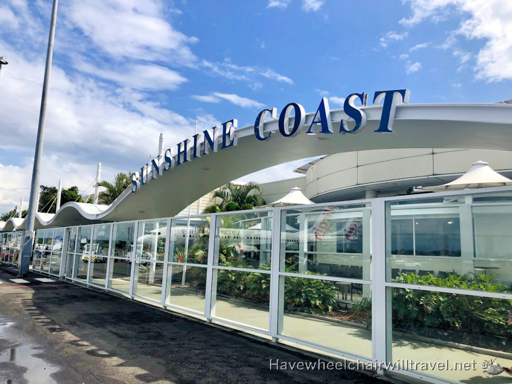 Sunshine Coast Airport Accessibility Review - Have Wheelchair Will Travel