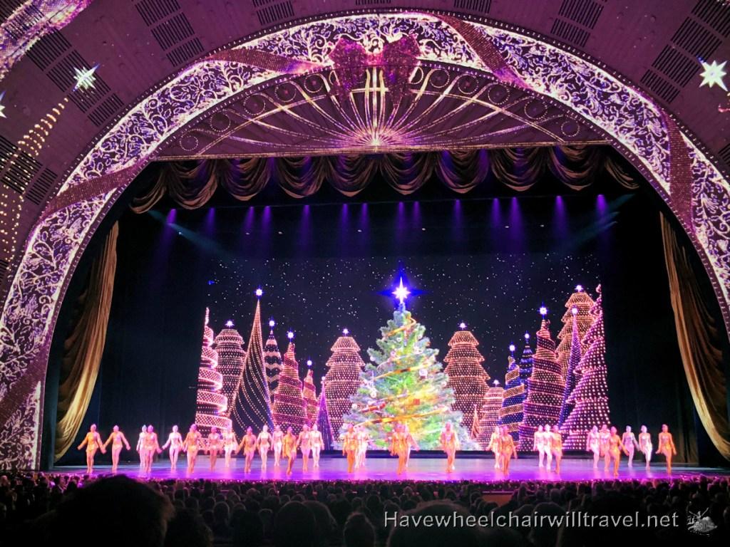 Radio City Music Hall Rockettes - Have Wheelchair Will Travel