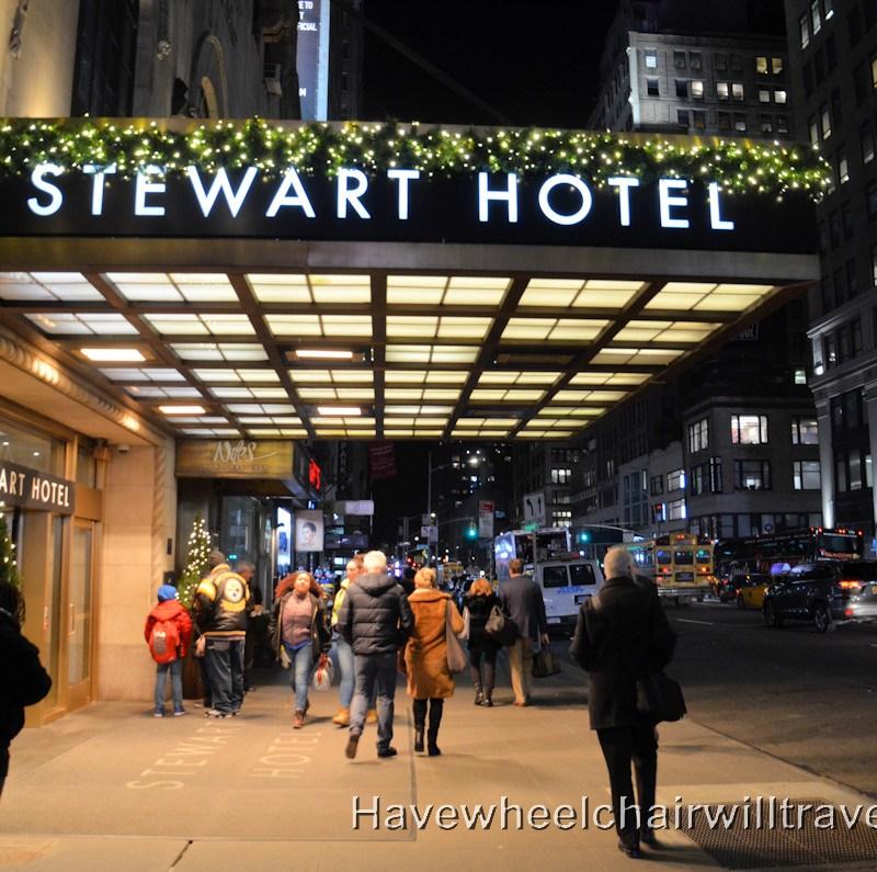 Stewart Hotel New York - Have Wheelchair Will Travel - accessible hotel New York