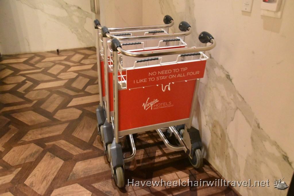 Virgin Hotel San Francisco - accessible San Francisco - Have Wheelchair Will Travel
