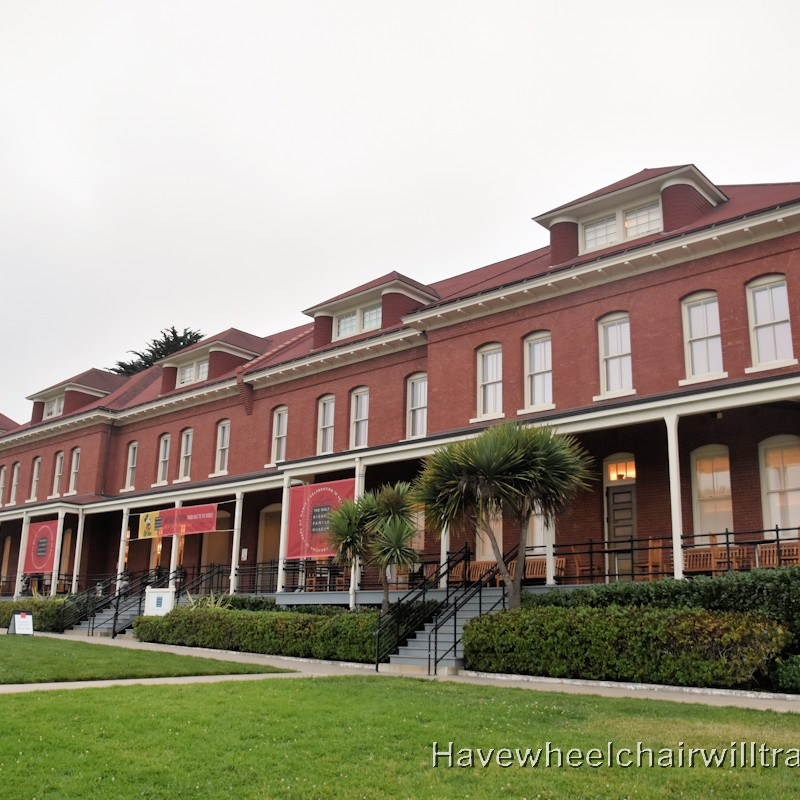 Walt Disney Family Museum - accessible San Francisco - Have Wheelchair Will Travel