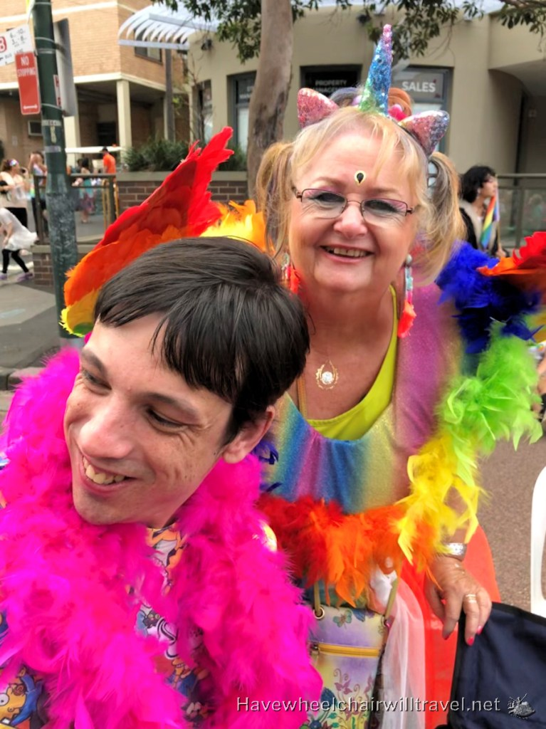 Mardi Gras Sydney accessibility - Have Wheelchair Will Travel