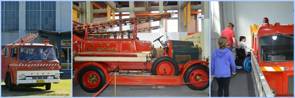 Museum of Fire Pentrith - Accessible Sydney - Have Wheelchair Will Travel