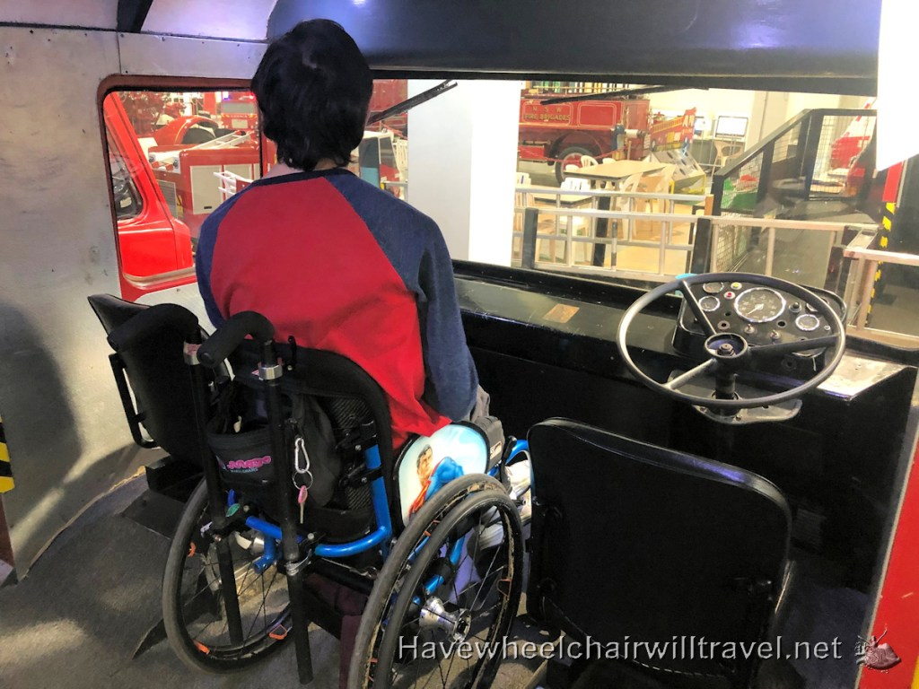 Museum of Fire Penrith - accessible Sydney - Have Wheelchair Will Travel