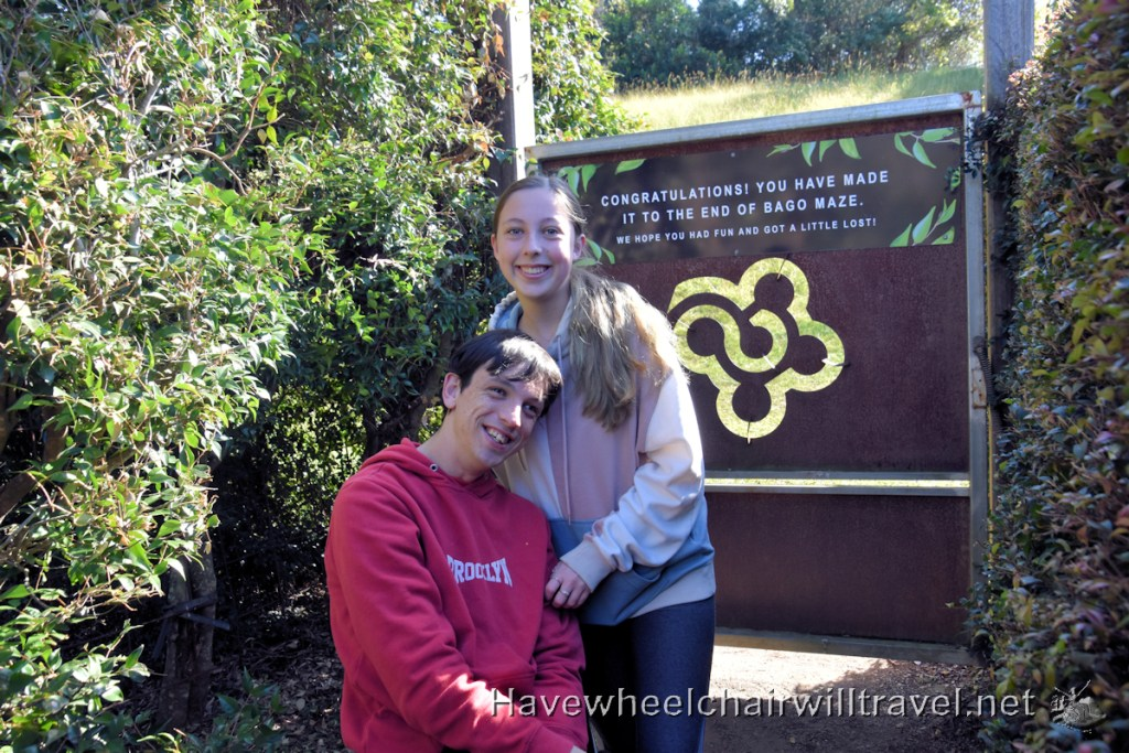 Bago Vineyard & Maze - accessible Port Macquarie - Have Wheelchair Will Travel