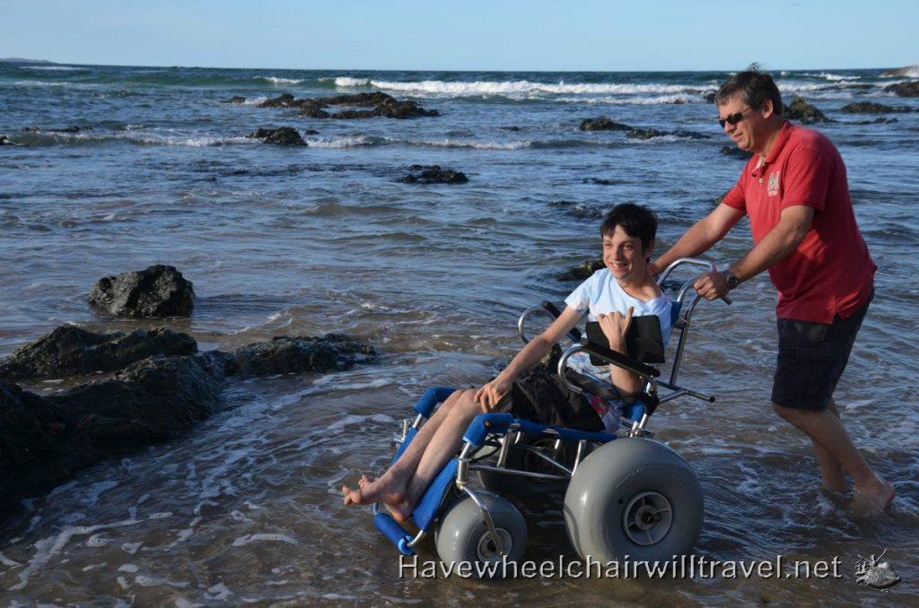 Beach wheelchair - transporting beach wheelchair - Have Wheelchair Will Travel