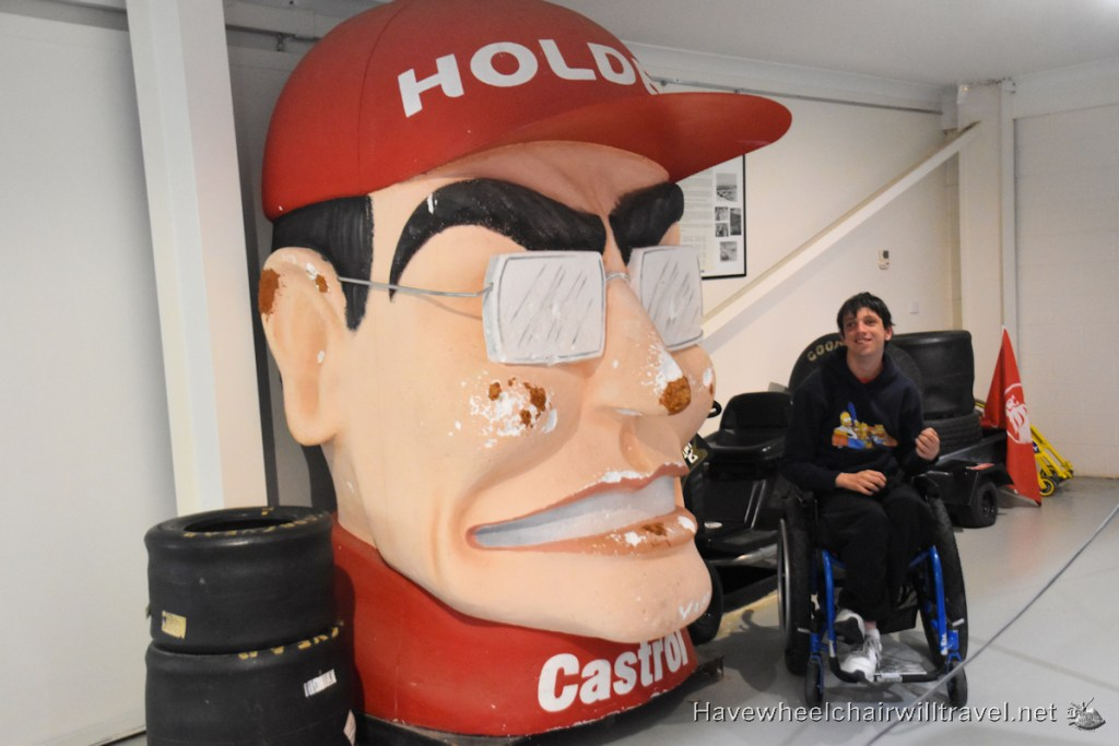 he National Motor Racing Museum Bathurst - Have Wheelchair Will Travel