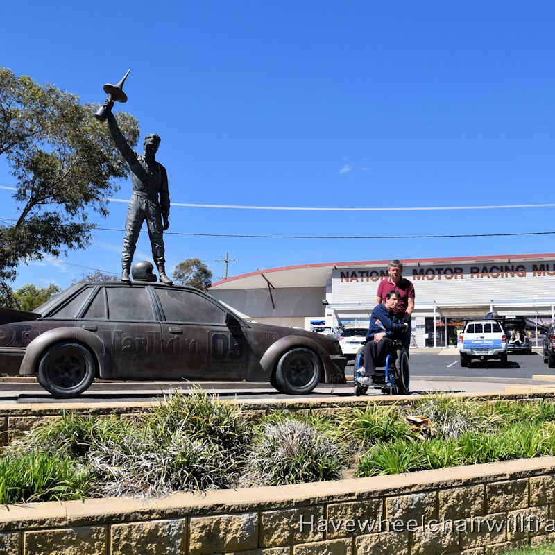 The National Motor Racing Museum Bathurst - Have Wheelchair Will Travel