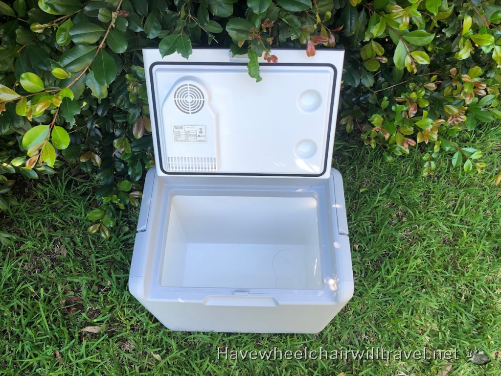 Car Fridge - disability equipment solutions - Have Wheelchair Will Travel
