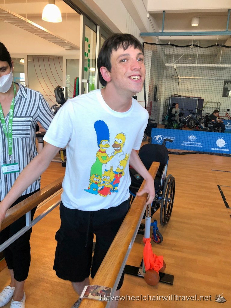 Cerebral Palsy Alliance gym - Have Wheelchair
