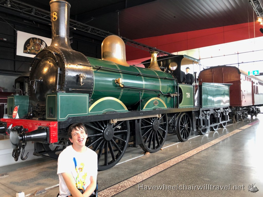 NSW Rail Museum Thirlmere - Have Wheelchair Will Travel