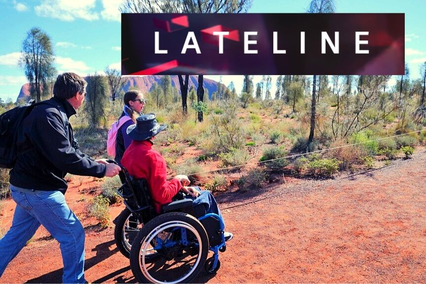 Have Wheelchair Will Travel on Lateline