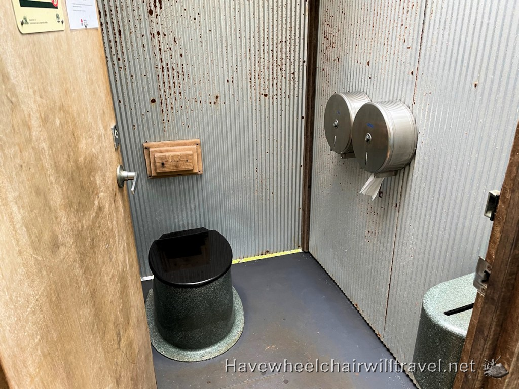Victoria Park Nature Reserve = wheelchair accessible bathroom - Have Wheelchair Will Travel
