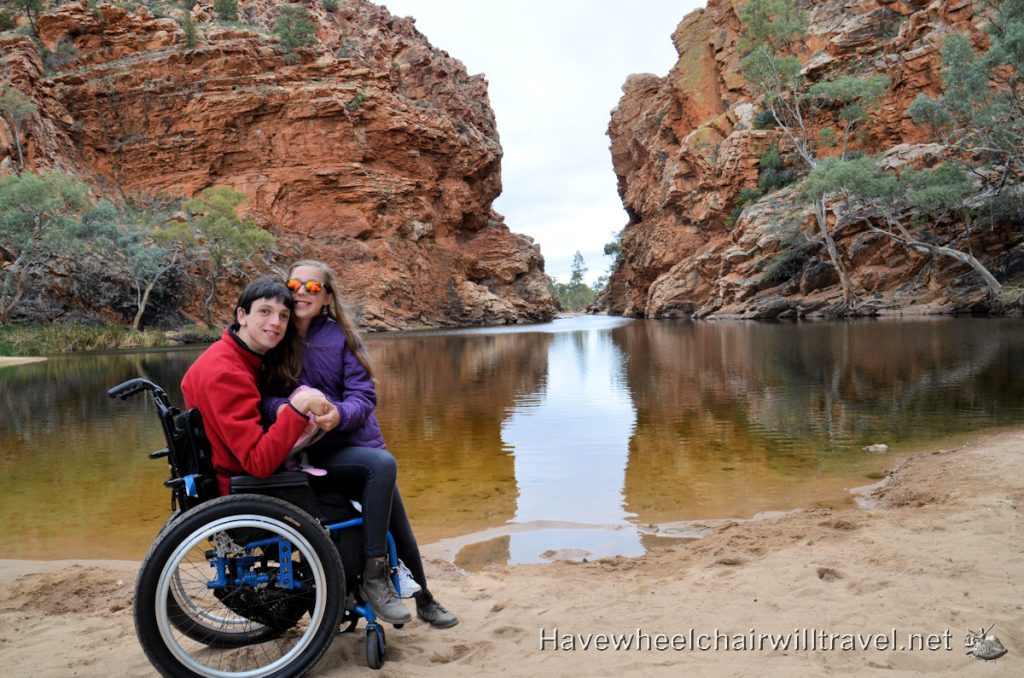 Ellery Creek - wheelchair accessible Northern Territory - Have Wheelchair Will Travel
