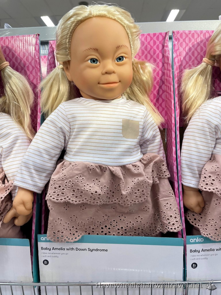 Kmart inclusive range of dolls with disability - Have Wheelchair Will Travel