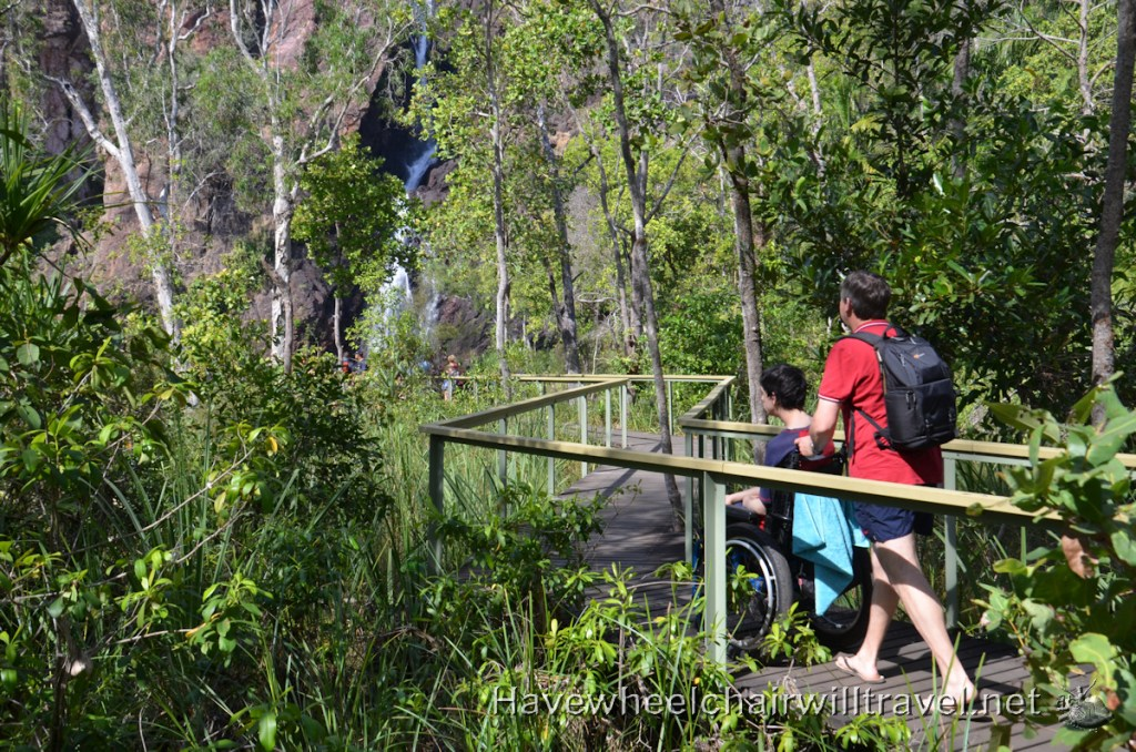 Wangi Falls - accessible Northern Territory - Have Wheelchair Will Travel
