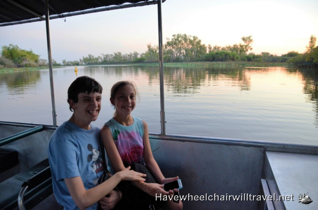 Corroboree Billabong Wetlands Cruise -accessible Northern Territory - Have Wheelchair Will Travel