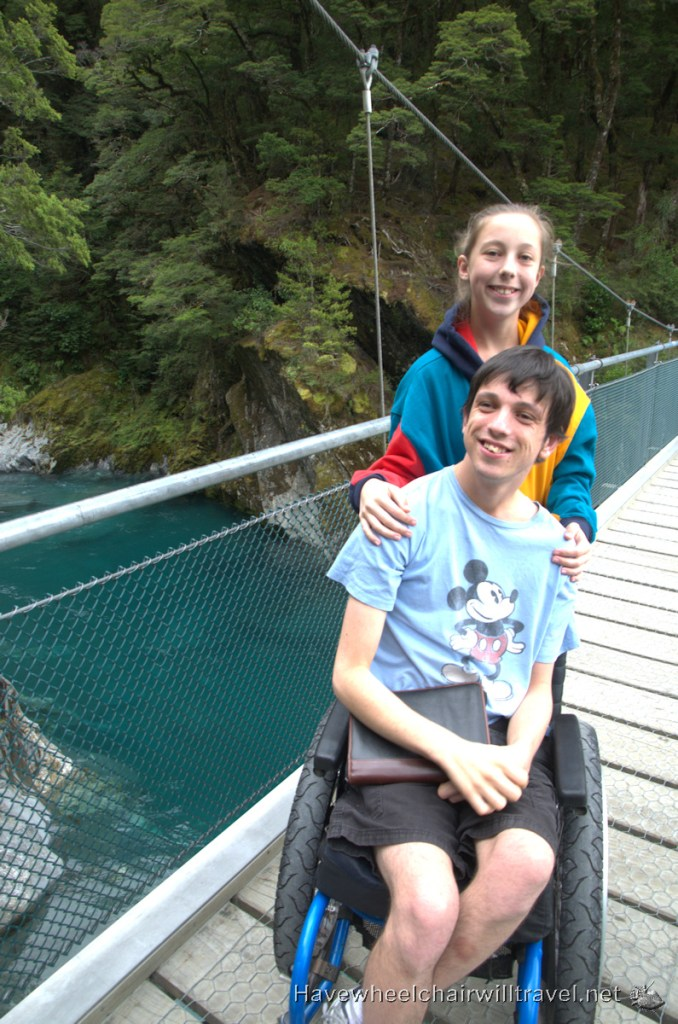 Blue Pools New Zealand - Have Wheelchair Wil Travel