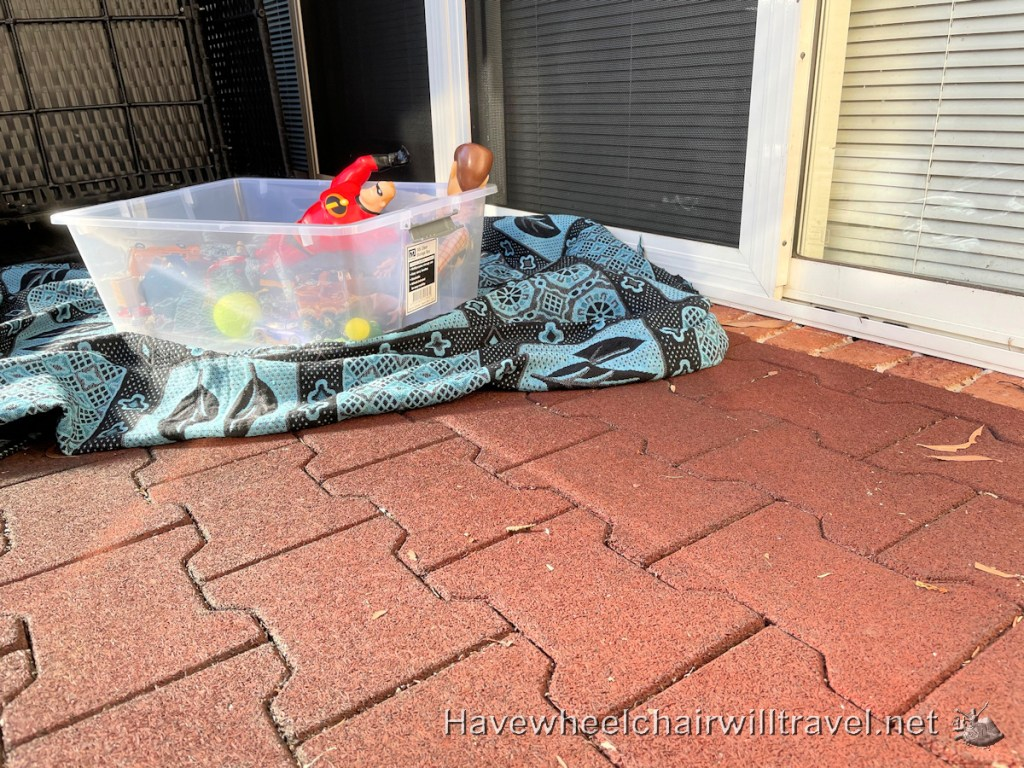 Soft fall pavers - Have Wheelchair Will Travel
