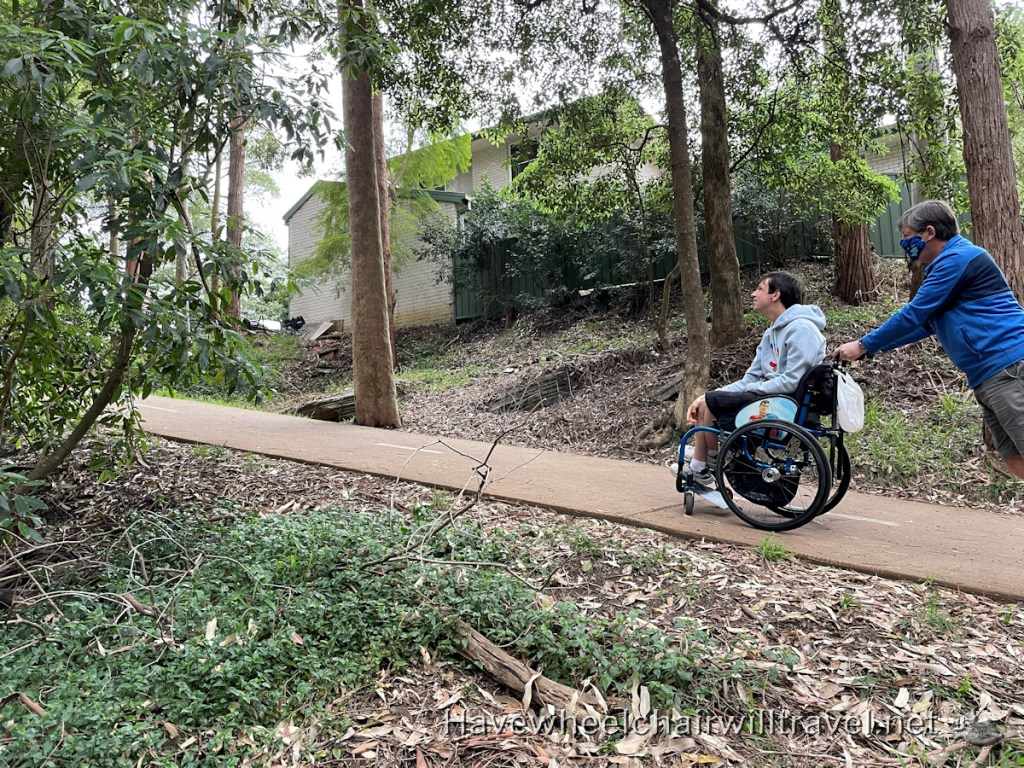 Accessible walk - Have Wheelchair Will Travel
