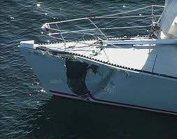 Boat damage