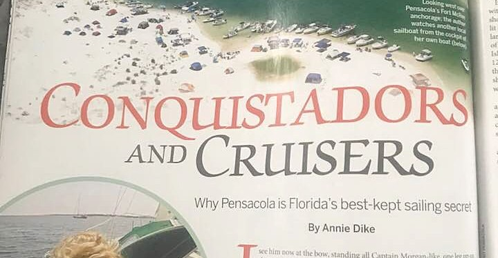 Article in SAIL Magazine: Conquistadors and Cruisers!