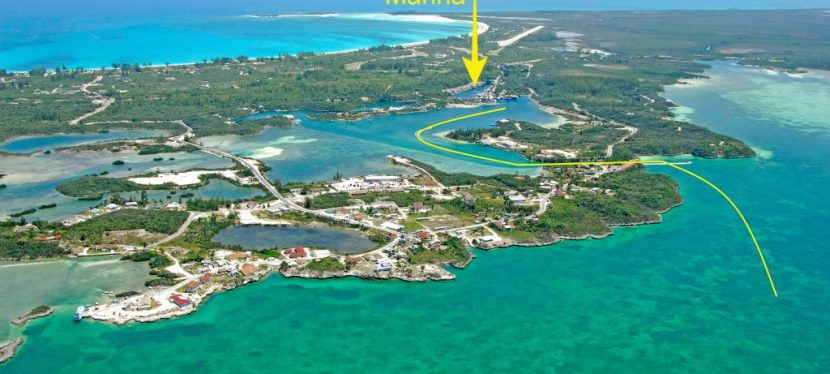 Our Hurricane Hole for 2019: Great Harbour Cay, Berry Islands, Bahamas
