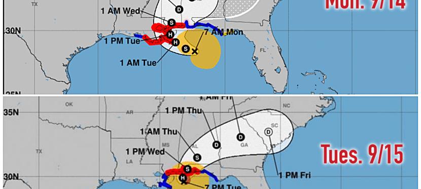 Hurricane Sally Ch. 1: The Forecast