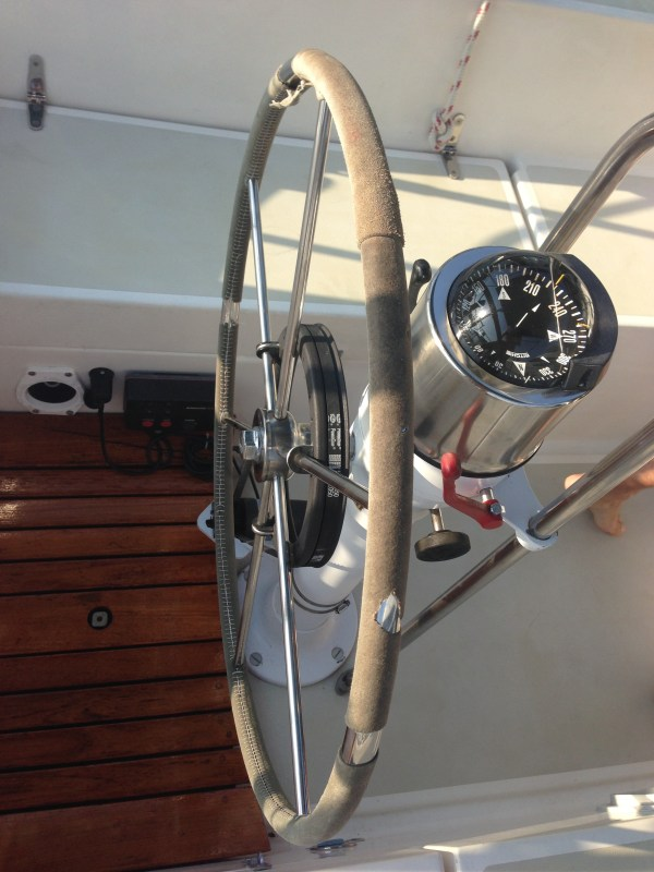 Sailboat Steering Wheel Wrap Cover