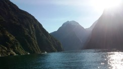 milford-sound-shot-with-boat-and-sun