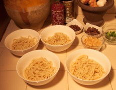 spicy szechwan tan tan noodles