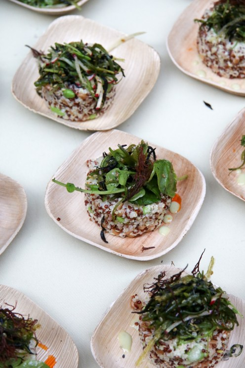 Ancient Grain & Seaweed Salad Wasabi Vinaigrette