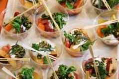 Stone Fruit and Roasted Beet Salad with Sheep's Milk Yogurt, Pistachio & Dragoncello Sauce