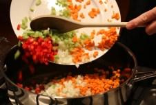 Spicy satay quinoa