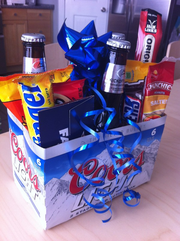 Men Birthday Gift Basket Ideas