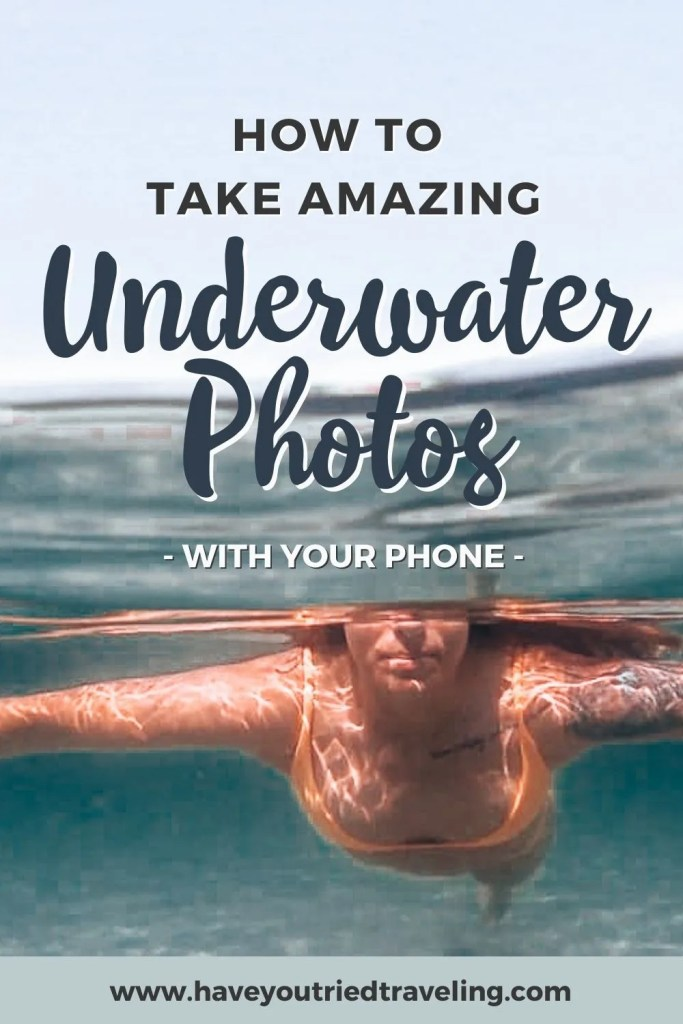How to take amazing underwater photos with your phone.