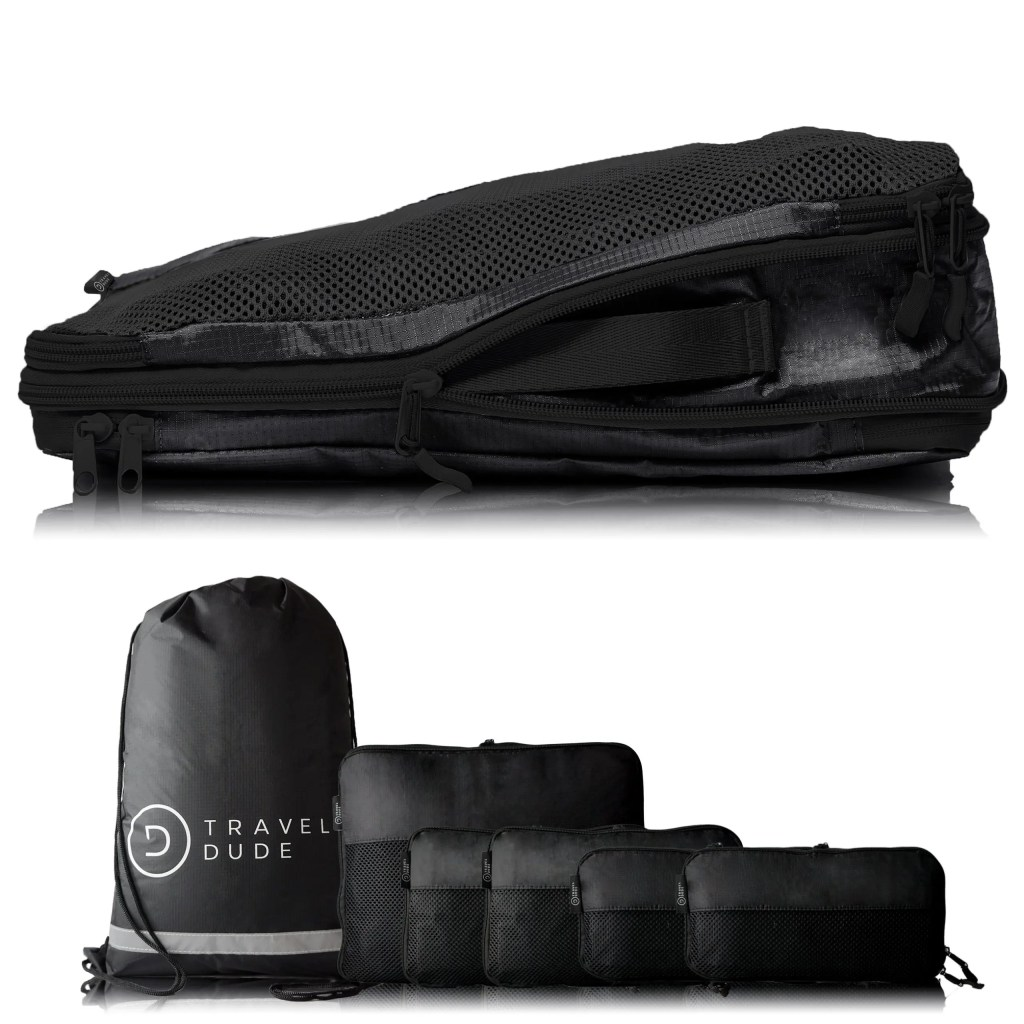 Packing cubes gift ideas for travel lovers