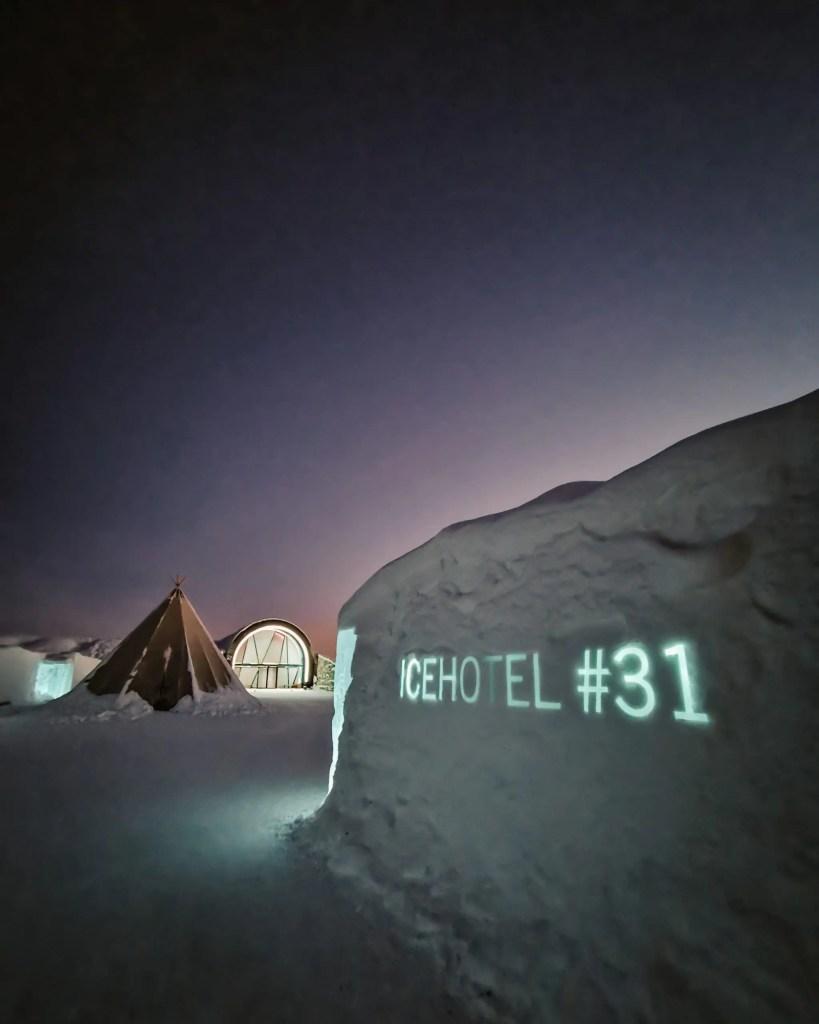 31st ice hotel Sweden