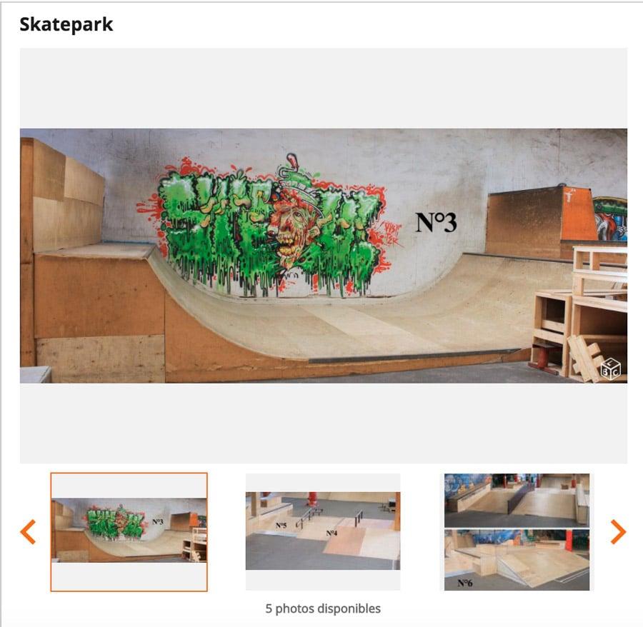 skatepark de Biarritz