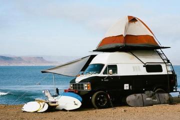 surftrip en van