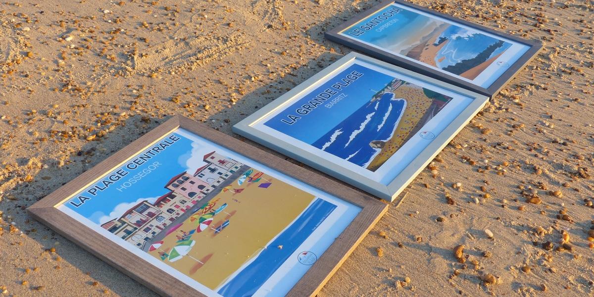 tableaux-souvenir-de-plage-sud-ouest