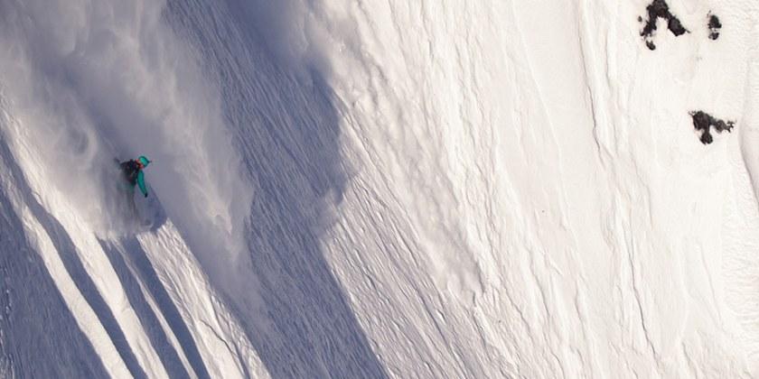 Snowboard Anne flore Marxer