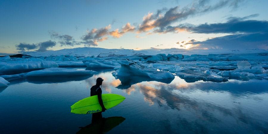 surf trip islande