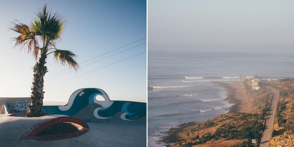 spot de surf maroc