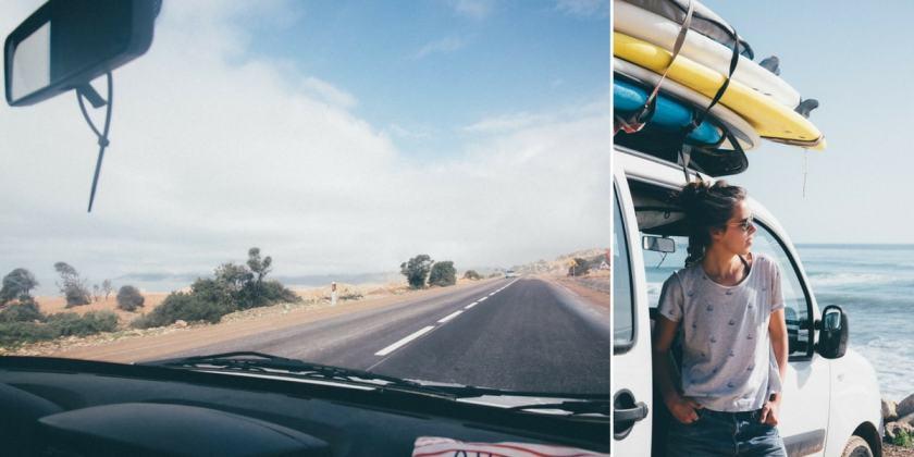 surf roadtrip van maroc
